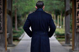 Blue Coat by Sartoria Tofani Neapolitan Tailoring
