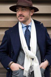 Gray Tailored Suit by Sartoria Tofani
