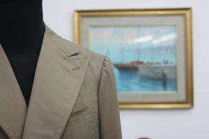 Beige Blazer by Sartoria Tofani Neapolitan Tailoring