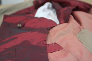 Red Fabric selected by Sartoria Tofani