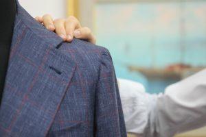 Blu blazer by Sartoria Tofani, Neapolitan Tailoring