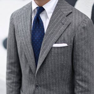 Gray Blazer by Sartoria Tofani Neapolitan Tailoring